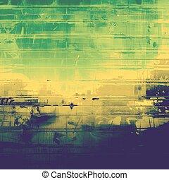 différent, (beige), couleur, vendange, texture, idéal, green;, brown;, blue;, jaune, backgrounds., patterns:, retro