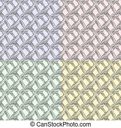 différent, couleurs, seamless, texture, chequered
