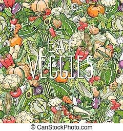différent, Légumes,  colorrful