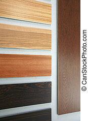 différent, plancher, bois construction