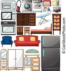 maison appareils maison diff rent esp ce appareils. Black Bedroom Furniture Sets. Home Design Ideas