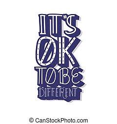 différent, vecteur, être, ok, quote., c'est