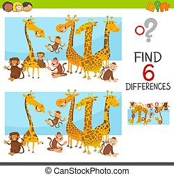 differences game for children