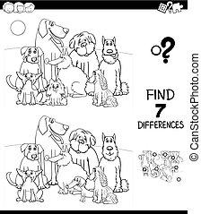differences with pedigree dogs color book