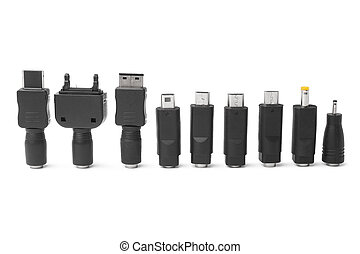 Different adapters for charger