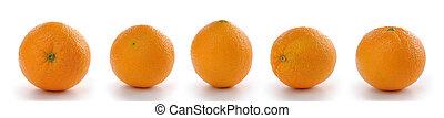 Different angles orange