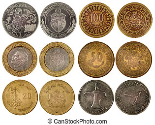 different arabian coins