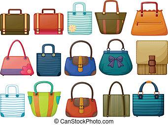 Different bag designs
