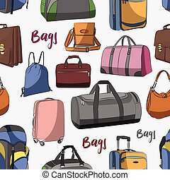 Different bags set pattern