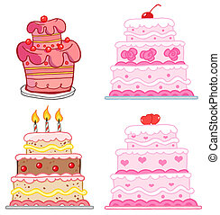 Different Cakes.Collection