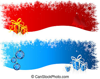 Christmas backgrounds - Different Christmas backgrounds with...