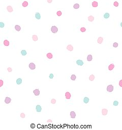 Different colors dots background.
