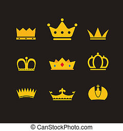 Different crowns collection