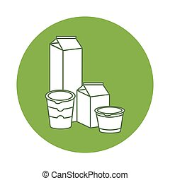 Dairy Products Clipart Vector Graphics Dairy