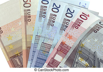 different euro currency