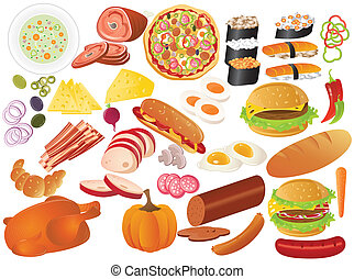 food - different food icon