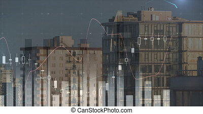 Different graphs and buildings 4k