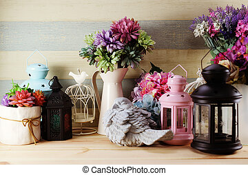 different home decor related objects