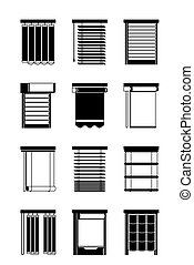 Different interior blinds