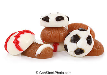 Different jelly sport balls