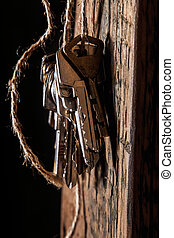 Different keys on thread