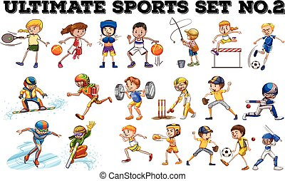 Different kind of sports