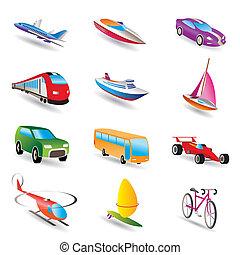 transportation and travel - different kind of transportation...