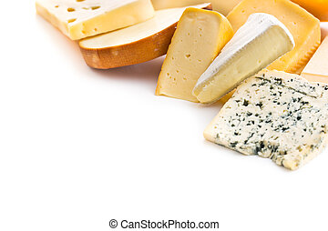 Different kinds of cheeses. - Different kinds of cheeses ...
