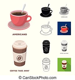 Different kinds of coffee...