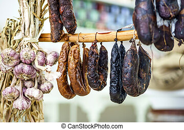 Different kinds of wurst