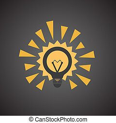Different light bulb icon collection