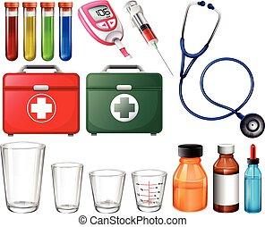 Different medical sets