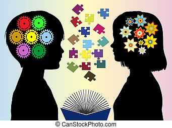 Different Mindset - Boys and girls develop different mode of...
