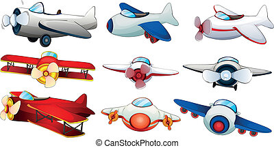 Different plane designs