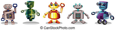 Different robot designs - Illustration of the different...