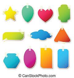 Different Shape Sticker