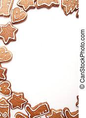 Different Shapes of Gingerbread Cookies - Varoius Homemade...