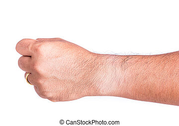 Different skin color on wrist under the watch