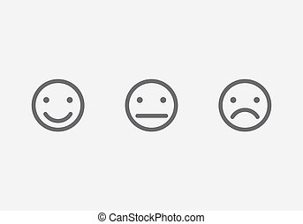 Different smiley faces icons