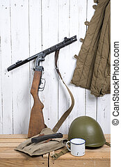 soviet equipment of World War Two - different soviet...