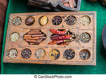 different spices of India