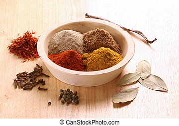 Different spices still life