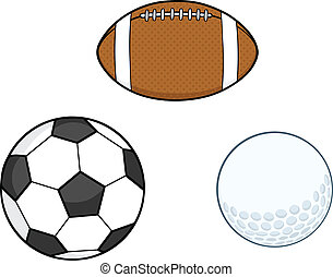 Different Sport Balls  Collection