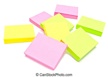 different sticky notes