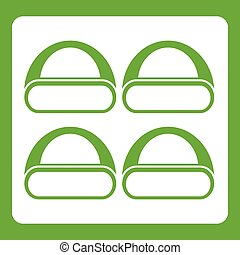 Different sushi icon green