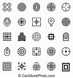 Different target icons