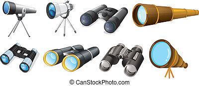 Different telescope designs