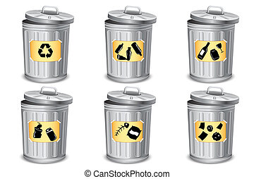 Different type Trash Bin