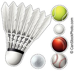 Different types of balls