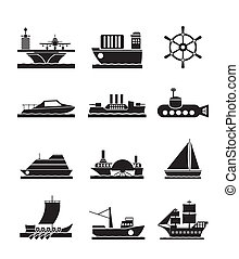 different types of boat and ships - different types of boat...